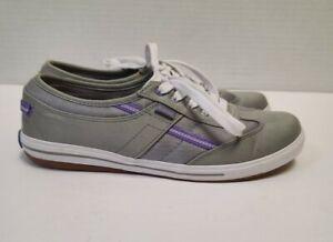 Keds Ortholite gray/purple Tennis Sneakers Size 6
