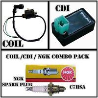 COIL + CDI + SPARK PLUG For 50cc 70cc 90cc 110cc Quad Dirt ATV Pit Bike Atomik
