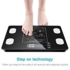 400lb Wireless Body Fat Scale Smart BMI Scale Bathroom Digital Weight Scale