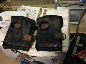 XA XB Heater Box Plenum Vent Flaps LH Passenger Ducting