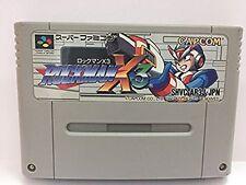 Super Famicom ROCKMAN X3 Mega Man Japan SFC SNES