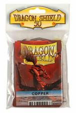 Card Sleeves Dragon Shield 50ct Deck Protector Classic Copper New Standard Size