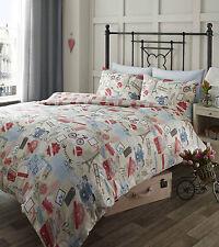 King size reversible duvet set Journey quilt cover & pillowcase set