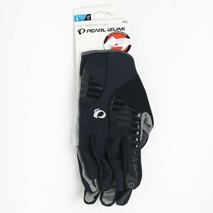 Pearl Izumi Bike Gloves XXL Men Cycling CYCLONE Gel Black Winter Bicycle New