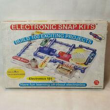 NEW Electronic Snap Kits 100 Projects Electronics 101 Radio Shack 28-286