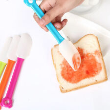 1pc Kitchen Cooking Tool Silicone Baking Scraper Bread Cake Spatula Butter Mixer