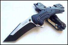 TF640 Couteau de la Sécurité Civile Rescue Tanto Tac Force A/O Acier Inox Manche