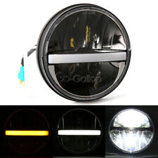"7"" LED Projector Headlight Fit Harley Road King Street Glide FLHX FLHR"