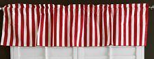New Creations Fabric & Foam, Decorative Stripe Poly Cotton Curtain Valance Panel