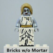 New Genuine LEGO Zombie Bride Minifig Monster Fighters 9465
