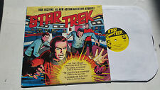 Star Trek Four Exciting Stories vinyl LP Power Records 1975 neal adams foster !!