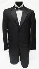 54 Long New Mens Designer Calvin Klein 2 Button Wool Tuxedo Jacket Big & Tall