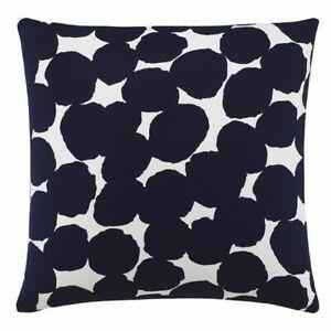 KATE SPADE Decorative Pillow, RANDOM DOT in BLACK, WHITE, Square Toss, Throw NEW