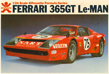 BANDAI FERRARI 365GT LEMANS 1/24 PLASTIC MODEL CAR KIT DETAILED 38101 *RARE*