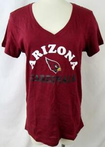 Arizona Cardinals Womens S M L XL or 2XL Screened Cardinals Team T-shirt ACDN 96