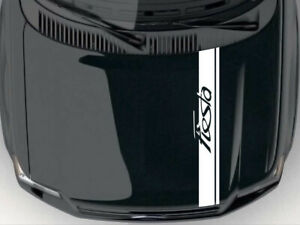 Bonnet Stripes Car Hood  Sticker For Ford  FIESTA Any Colour U Want