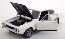 1970 Ford Capri Mki Rs 2600 White Black 1:18 Minichamps Diecast