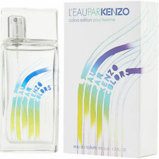L'EAU PAR KENZO COLORS EDITION POUR HOMME 1.7 oz 50 ml Eau De Toilette Spray Men