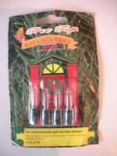 Tree Top Xmas bulbs  2.5v 0.7w CLEAR ( chaser/sparke )
