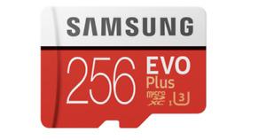 SAMSUNG MEMORIA ESPANDIBILE 256GB EVO PLUS MICRO SD MEMORY CARD