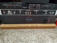 VINTAGE PS AUDIO TWO C PLUS POWER AMPLIFIER & POWER SUPPLY WORKS GREAT! 70wpc