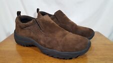 Men's GBX Trailer Brown Suede Leather Casual Loafer Hiking Walking Shoes - 9.5 M