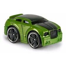 Green Hot Wheels Chrysler 300C Tooned 1:64 Hot Wheel Diecast Kids Model Toy Cars