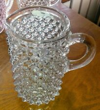 Pointed Hobnail Creamer
