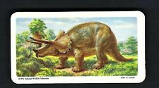 More details for brooke bond (canada) - dinosaurs (national wildlife fed 1991) - #38 triceratops