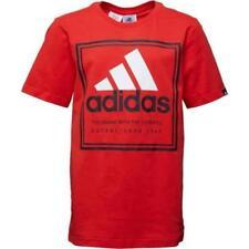 Camisetas de niño de 2 a 16 años rojo
