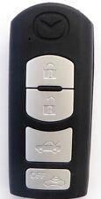 SMARTKEY Schlüssel Gehäuse MAZDA 2 3 6 CX-7 CX-5 CX-9 MX-5 Fernbedienung 4Tasten