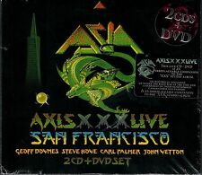 ASIA - Axis XXX Live San Francisco 2 CD + DVD