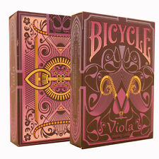 Viola Bicycle Playing Cards - Rare Purple Bicycle Deck - Collectible Cards