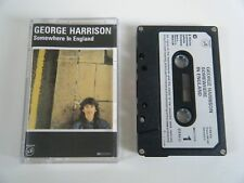 GEORGE HARRISON SOMEWHERE IN ENGLAND CASSETTE TAPE 1981 PAPER LABEL WARNER