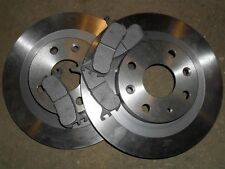 Rear brake discs & pads set, Mazda MX5 1.8 mk1, Eunos MX-5, 1993-98, 251mm disc