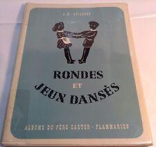 Book in French RONDES ET JEUX DANSES Livre en Francais FLAMMARION