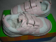 Perfection Jumping Jacks Girls Playground Pk Leather Tennis Shoes 7 M 170275A