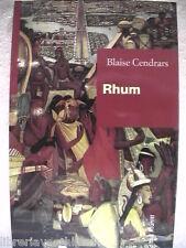 RHUM L avventura di Jean Galmot Blaise Cendrars Editori Riuniti 1998 romanzo di