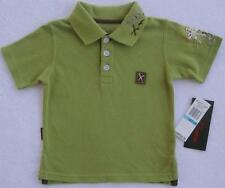 NWT Marc Ecko Boys Olive Green Short Sleeve Polo(Size 6 Months) NEW