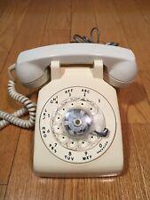 Northern Telecom NT 500AX Rotary-Dial Desktop Biege Phone 1976 Canada Vintage