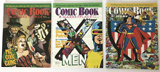 COMIC BOOK MARKETPLACE #63 64 65 Lot of 3 Superman 60th, Pre-Code Crime, X-Men