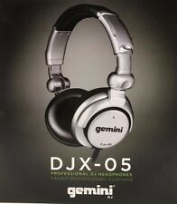 Gemini DJX-05 Over-Ear Professional DJ Headphones