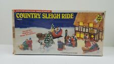 Vintage Accents Unlimited Wee Crafts Country Sleigh Ride #21524 RARE SEALED