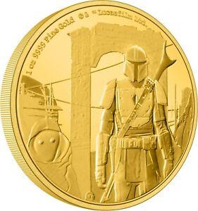 Niue - 2021 - 1 OZ Gold Proof  Coin- The Mandalorian Classic – The Mandalorian
