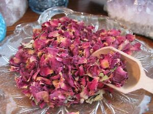 New Prim Rustic Style Natural Dried Rose Petals & Rosebuds