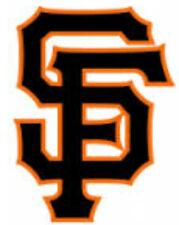 20  WATER SLIDE NAIL TRANSFER  DECALS SAN FRANCISCO GIANTS BASEBALL 5/8 TH INCH