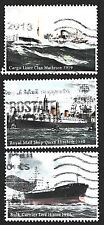 Great Britain 2013  Merchant Navy Ships 3x High Value Stamps P Used