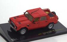 LAMBORGHINI LM002 RED 1986 IXO CLC275 1/43 ROSSO ROUGE ROT MODELS DIE CAST