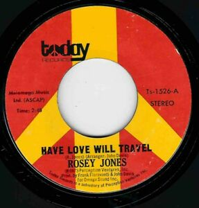 """NORTHERN SOUL - ROSEY JONES - HAVE LOVE WILL TRAVEL - TODAY """"HEAR"""""""