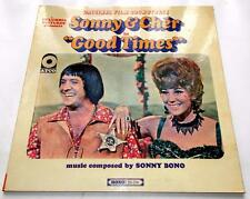 Sonny & Cher Good Times 1967 Atco 214 Mono Soundtrack 1st Press 33 rpm LP VG++